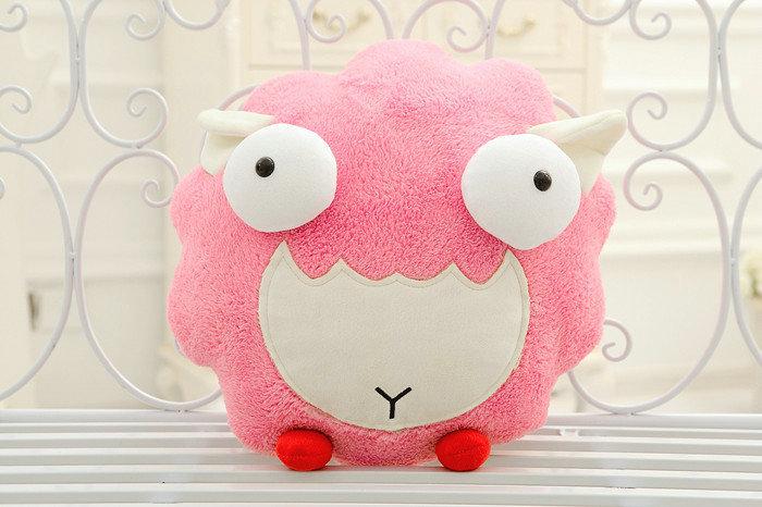 size 30 cm Cute lamb plush toys wholesale cartoon sheep Christmas sends kids, Best gift 2015 drop shipping(China (Mainland))