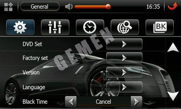7 inch car gps navigation for Volkswagen Lavida with intelligent audio bluetooth radio USB logo set TFT analog TV antenna 8056(China (Mainland))