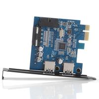 AB0083 ORICO PVU3-2O2I USB 3.0 PCI Express Card with 2 Rear USB3.0 Hosts and Internal USB3.0 20PIN Connector + Freepost