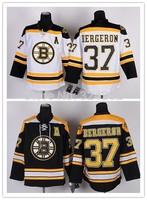 2014-15 Stitched Boston Bruins 37 Patrice Bergeron White/Black  Ice Hockey Jerseys Size:48-56