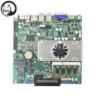 X86 fanless mini pc computer mianboard fanless mini industrial pc motherboard