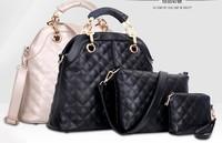 Hot three-piece women handbag 2015 new bolsas femininas fashion women messenger bags vogue shoulder bags joker crossbody tote
