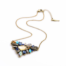 New 2015 Charming Jewelry Cute Irregular Statement Choker Charm Necklace Fashion Jewelry For Women