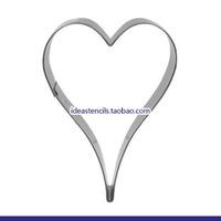 Valentine's Day love long sweet fruit reassuring children die cut cookies molds,HMC114
