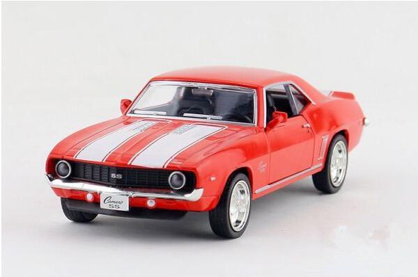 Free shipping UNI-FORTUNE 1:36 Chevrolet camaro SS alloy simulation model car toys(China (Mainland))