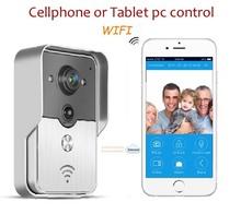New Wifi IP Video door phone, remote door access by you iphone, andriod/app smartphone or tablet pc , wireless video door phone