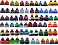 2015 Hot Selling mens Sports Beanie Winter Skullies Street Hip-hop Hats women Winter Knitted wool beanies free shipping