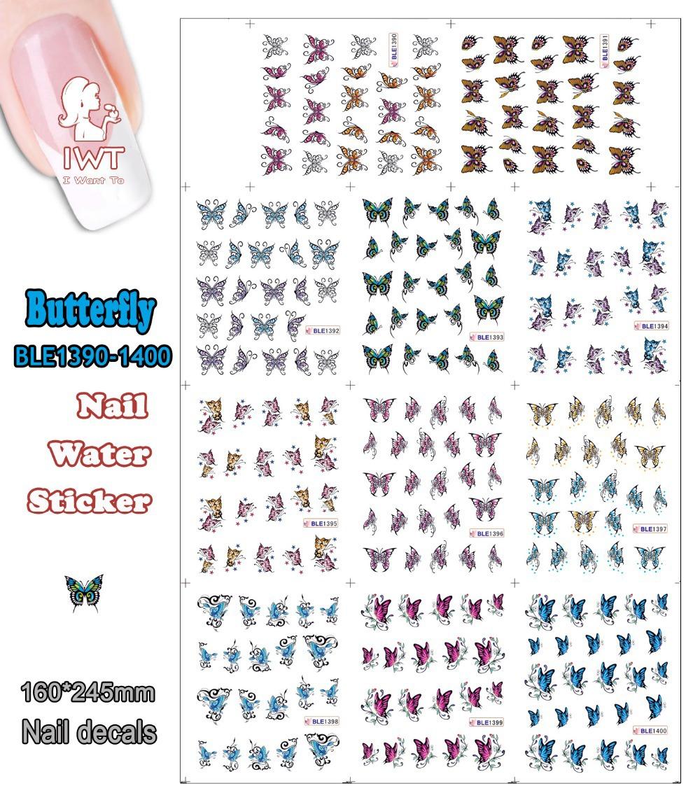 Наклейки для ногтей IWT BS0024