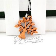 Pachira wood wood pendant pendant Taobao popular gifts wholesale wood wood pendant pendant