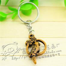 Lark Keychain keychain wholesale wholesale faux wooden keychain wholesale Yiwu Wholesale Keychain