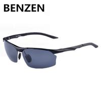 2015 Men Polarized Sunglasses Alloy Male Driving Fishing Sun Glasses Sport Goggles Oculos De Sol Masculino With Case 9066