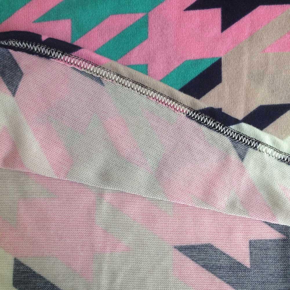 Корейский мода женщин широкий Blusas Femininas контрастность цвет трикотажные рубашки женщины длинные рубашки свободного покроя пуловер топы многоцветный