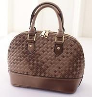 2015 New female fashion bag 4 colors women handbag Pack knit wave baodan shoulder handbags women messenger bags wholesale