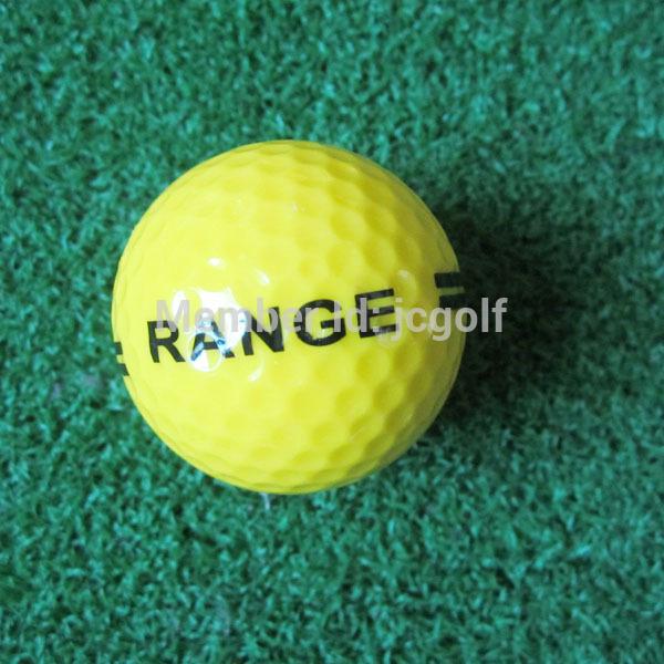 yellow color golf driving range ball(China (Mainland))