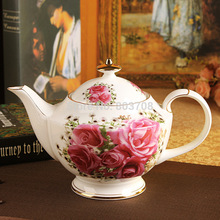 Free shipping 2014 15 Rose of England European Bone China Tea Coffee Set ceramic coffee cup