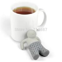 New Fashion Teapot cute Mr Tea Infuser/Tea Strainer/Coffee & Tea Sets/silicone tea
