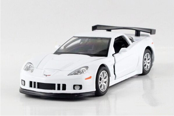 Free shipping UNI-FORTUNE 1:36 Chevrolet corvette alloy simulation model car toys(China (Mainland))