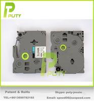 """Mix models choosable 12mm x 8m(0.47""""*26.2ft) Flexible Label Tape Cartridge TZe-Fx231 Tz-Fx221 tz-fx251 for label printer"""