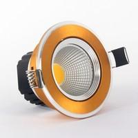 led lights for home 5W 7W 9W 12W 15W luces led light fixtures silver / black / gold shell 110v120v220v230v240v luminaria led