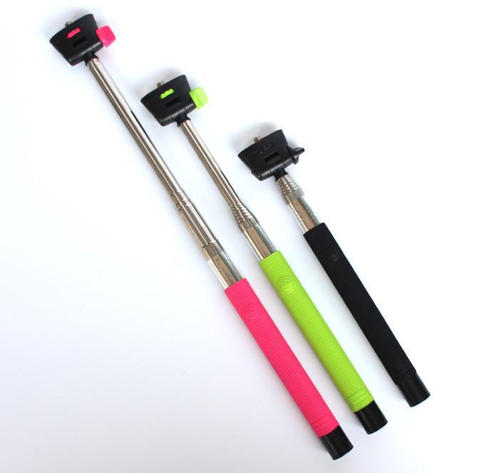 acquista 2 in 1 wireless bluetooth selfies monopiede selfie stick treppiede. Black Bedroom Furniture Sets. Home Design Ideas