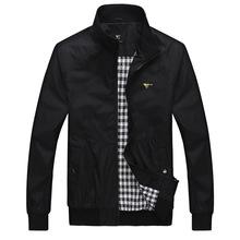 Новый 2015 Septwolves куртка весна куртка известный бренд мужской спорт свободного покроя пальто мандарин воротник Большой размер 7XL бесплатная доставка(China (Mainland))