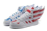 Men/Women's Lovers Original JS OBYO Sneakers/Sports Wear tenis Running Jeremy Scott Angel Wings 2.0 High Top Sneaker Shoes