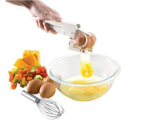 Easy cracker Egg separator crack eggs and separate egg whites with one simple motion egg dividers