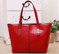 High Quality Hot Fashion 2014 New Women Genuine Leather+PU Leather Handbag Bags Womens Cowhide Shoulder Bag Large Messenger Bag
