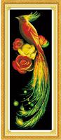 5d diy diamond painting crystal Golden Phoenix diamond embroidery animals birds cross stitch picture rhinestones home decoration