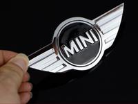 2015 Car trunk Rear metal Back 3D Self Adhesive Metal Emblem Sticker Chrome MINI COOPER sR30