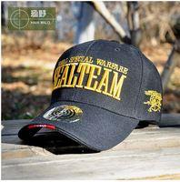 Outdoor cap Han edition baseball cap cap The navy sealteam baseball cap Military enthusiasts tactical cap