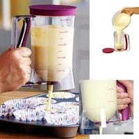 900ML Cake Batter Dispenser with Measuring Label,Dough Cupcake Cream Separator Pancake Muffin kitchen Baking Essentials