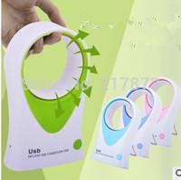 ventilador usb gadgets cool usb fan Handheld conditioning Security no blades Portable Novel Creative Health Easy clean Bracket