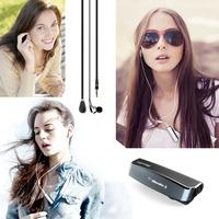 100% Original Brand Bluedio i6 Bluetooth 4.1 Headset Stereo Wireless Belt Clip Headphone With Display Sport Music Earphone