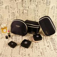 Three-piece Suit New Fashion Women's Cosmetic Bag Makeup bag Gift Set Brand Cavans Clutch Travel Wash Toilet Pouch Bag