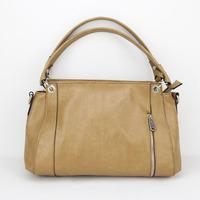 Promotion Hotsell Celebrity Girl Faux Leather Handbag women tote Shoulder Bags high quality Casual Handbag H023khaki