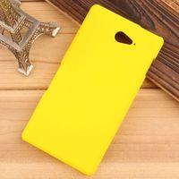 For Xperia M2 Aqua Case Matte Hard Plastic Back Covers Case For Sony Xperia M2 Aqua D2403 D2406 Smartphone Case + Film + Stylus
