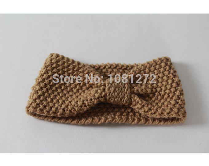 (20pieces/lot) Wholesale Cute Turban Headband Head wrap,Fall and winter hair accessoryheadband pattern,Kont Knit Headband ,7013(China (Mainland))