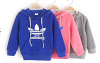 girl's sweater baby childrens clothing sport baby hooded childrens girl's top shirts Hooded Sweater hoodie whole suits