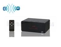 Free shipping NFC bluetooth Mini Speaker touch screen Radio Music Player TF Card USB Portable Speaker KR7200
