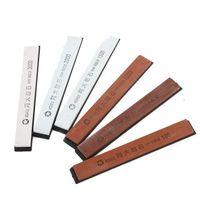 Free Shipping 6 PCS Grit Knife Razor Sharpener Stone Whetstone Polishing Tool Two Sides 180 to 3000      96256