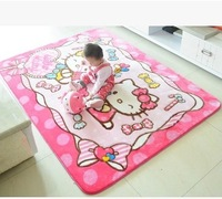 Hello Kitty cartoon Home Furnishing carpet KT cartoon children play crawling pad living room bedroom bedside pad