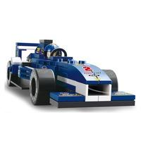 2015 New New! Sluban M38-b0351 F1 Racing Car Model Building Block Set 3d Construction Diy Brick Toys Enlighten Toy For Children
