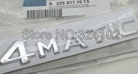 20ps Chrome 4MATIC Plastic Letter 3D Boot Badges Emblem  wholesale