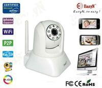 EasyN 187V 960P 1.3 Megapixel p2p ip network camera plug and play CMOS IR-Cut Night Vision 10m Free Shipping