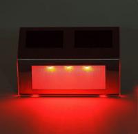 Free Shipping LED Solar Stair Lamp Floor Light Wall Light Decorative Outdoor Waterproof Light