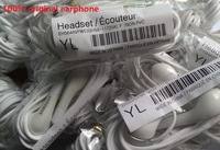 100pcs/lot,100% Genuine Original Wired Headset Headphones Earphones with Inline Mic for Samsung S3 S4 i9300 i9500