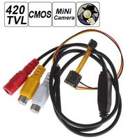420TVL 1/5 Inch CMOS Sensor 5 Mega Pixel Covert Pinhole Hidden Ultra Mini Camera