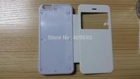 For iphone 6 plus Flip leather case i6 DIY Sublimation blank leather cover case for iphone 6 plus  with inserts +glue100pcs/lot