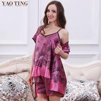 2015 lounge set piece hot-selling plus size women's Pajama